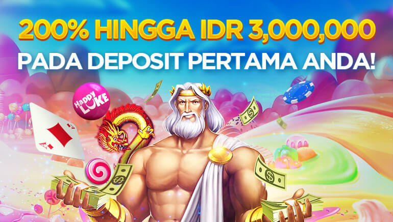 Happy Luke Casino Menawarkan Bonus Sambutan Besar bagi para Pejudi Indonesia