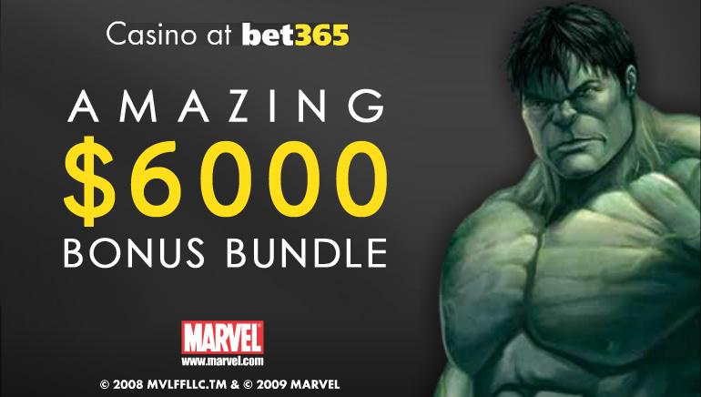 Spesial di bulan Oktober -- bet365 menawarkan bonus uang $6000