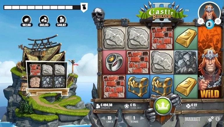 Waktunya Membangun: Castle Builder II dari Microgaming telah Dirilis