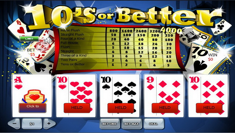 Poker Video Online