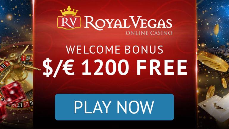 Royal Vegas - BONUS SAMBUTAN $300 - 100% Bonus Ganda