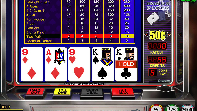 Poker Video Online Gratis